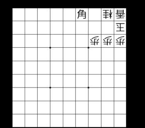 【図4-1 歩頭の桂】