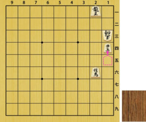Fig4. Checkmate by moved pawn is not illegal