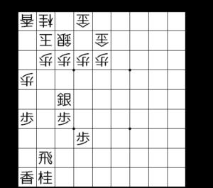 【図1-1 角交換している局面】