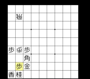 【図5-2 控えの歩で受ける】