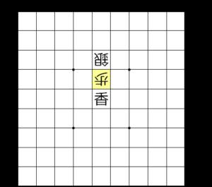 【図2-2 連打の歩で香車が取られる】