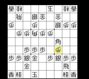 【図5-2 飛車取りを見せられて失敗】