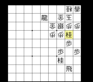 【図2-2 いきなり歩頭の桂】