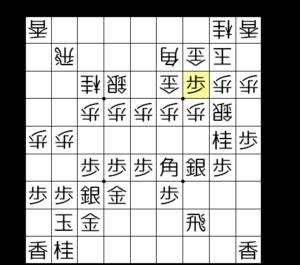 【図4-2 急所の▲3三歩】