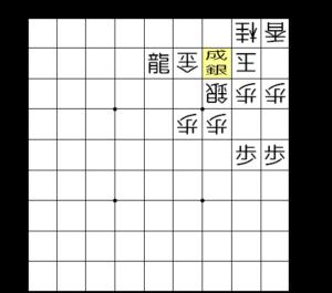 【図1-3 平凡に▲3二銀成でOK】
