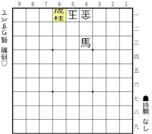 【解答図は▲6一桂成まで】