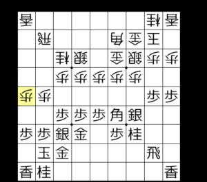 【図2-6 1筋2筋の歩を詰める】