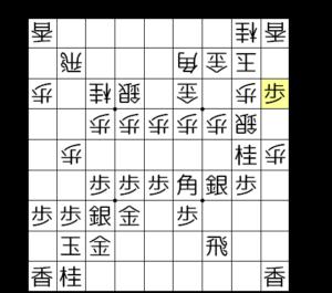 【図4-b 端攻めの基本手筋】
