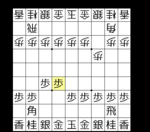 【図2-1 角交換を拒否】