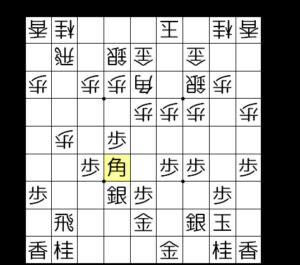 【図3-6 ▲6六角と出るのがセオリー】