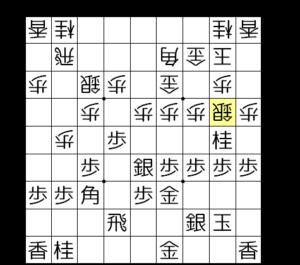 【図4-2 桂跳ねから攻めの始まり】