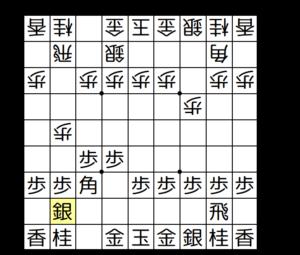 【図3-10 △2二銀と上がるのがポイント】