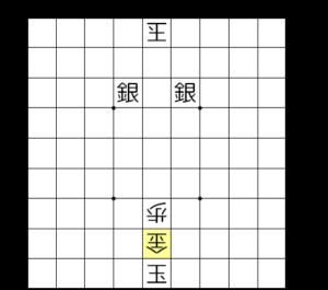 【図7-2 詰まされて負け】