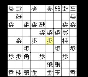 【図4-1 △2二銀の前に攻める】