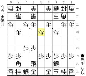 【図2-2 玉は3九で待機する】