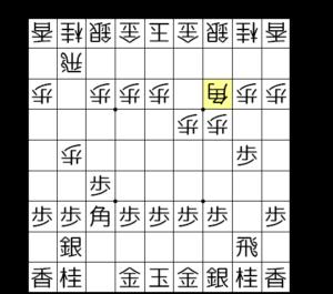 【図3-2 △3三角と上がらせる】