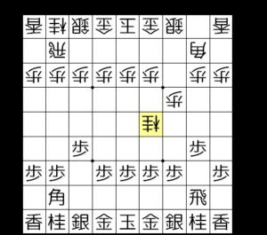 【図1-2 いきなりの桂跳ね】