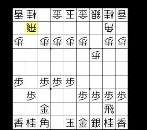 【図2-3 銀交換されて後手優勢】