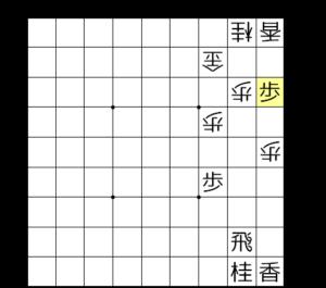 【図2-2 端攻めを見せる】
