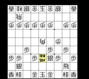 【図a-2 ▲5三桂成が厳しい攻め】