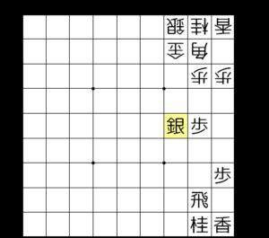 【図a-1 3筋から銀を使う】