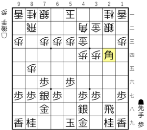 【図3-5 角交換を狙う】