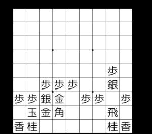 【図1-2 矢倉棒銀】