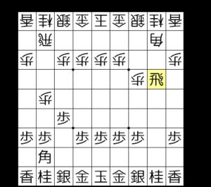 【図a-1 いきなり飛車先交換】