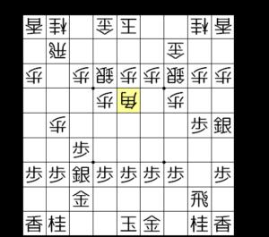 【図4-1 棒銀に対する△5四角】