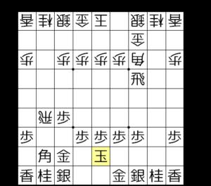 【図3-1 横歩取り青野流】