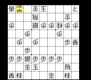 【図2-6 角と銀桂の2枚替えで先手良し】