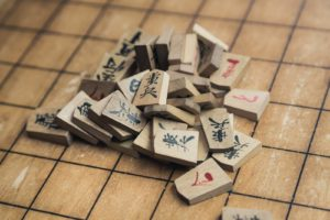 【Fig1. Peices of shogi】