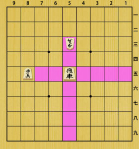 Fig5.1. Move of a Rook