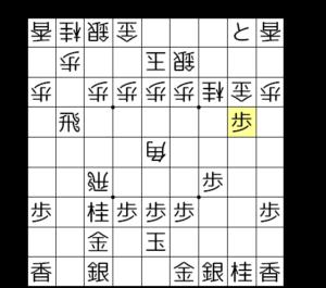 【図4-5 互角の攻め合い】