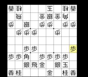 【図1-5 美濃囲いの完成】