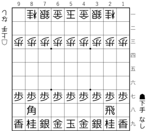 【図1-1 4枚落ちの基本図】