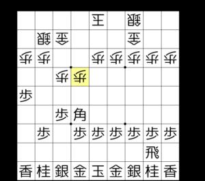 【図2-1 9筋の歩を伸ばしていく】