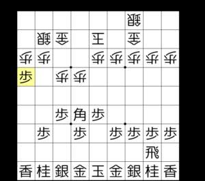 【図3-1 9筋からの攻め】
