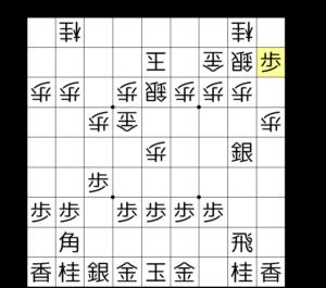 【図3-2 垂れ歩の手筋】