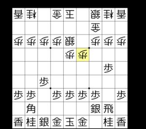 【図a-1 △4四歩とされると角が使いにくい】