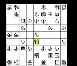 【図1-3 銀を中央に使っていく】