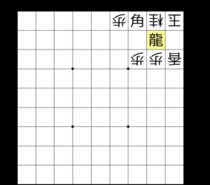 【図2-3 龍を作って詰み】
