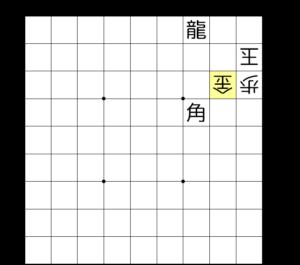 【図3-3 合駒で退路を封鎖する】
