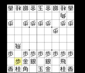 【図1-3 土下座の歩で受ける】