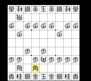 【図2-2 切り返しの角打ち】