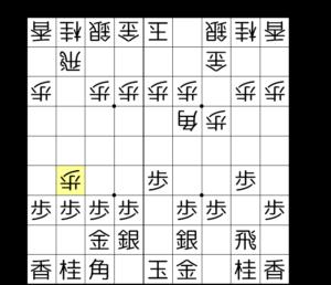 【図2-1 角引きを急ぐ旧嬉野流の形】