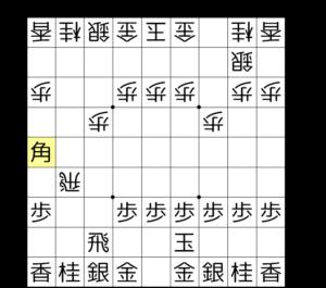 【図2-3 王手飛車で勝勢】