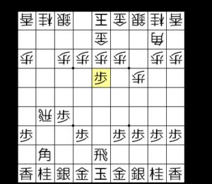 【図2-2 角道を開けて角交換を狙う】