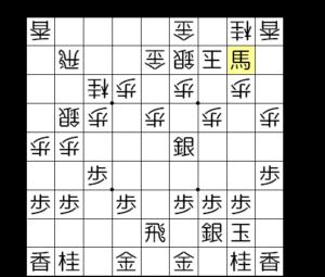 【図2-3 まずは角交換】