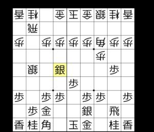 【図2-1 嬉野流vs棒銀】
